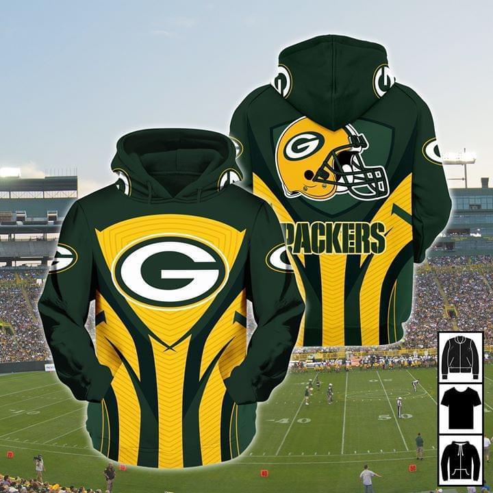 Green Bay Packers Nfl Fan For Packers Lover 3d Printed Hoodie 3d 3d Graphic Printed Tshirt Hoodie Size S-5XL