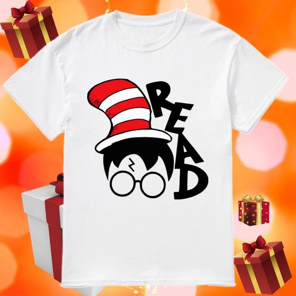 The Cat in The Hat Harry Potter Read Unisex T-Shirt All Sizes S-5XL